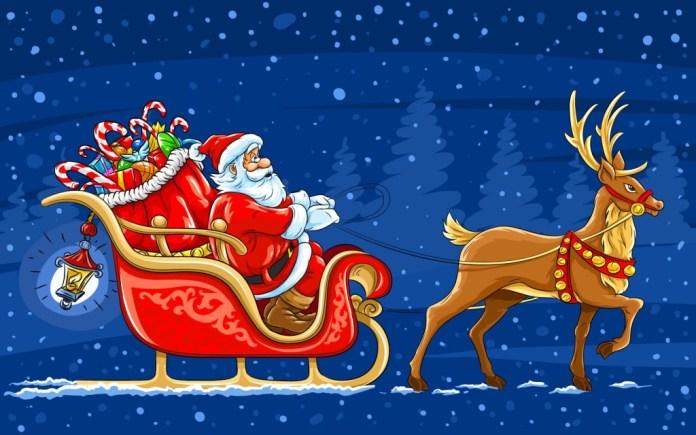 Christmas Reindeer 1920x1200 image