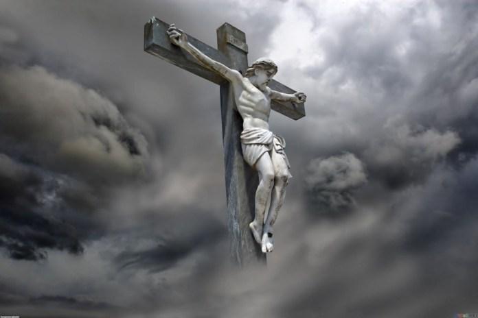 Crucifix desktop background wallpaper