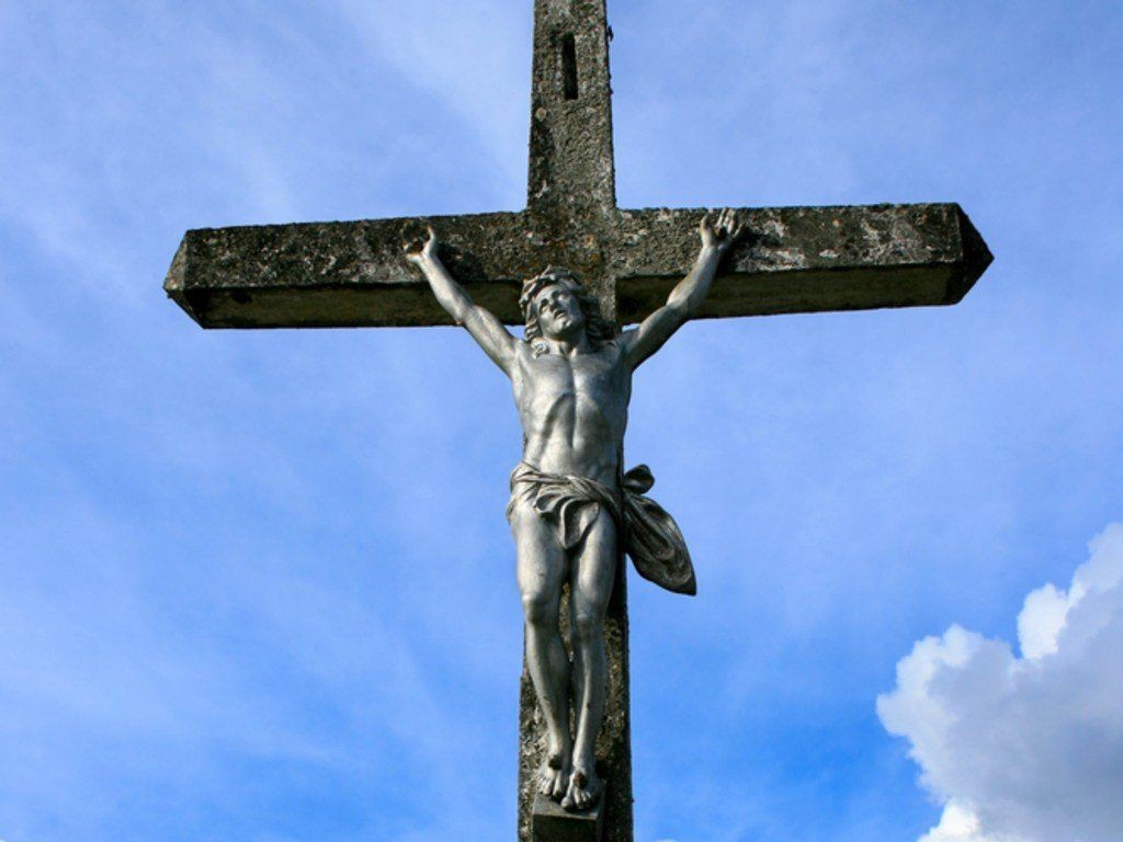 Crucifixion image in 1024x768 size