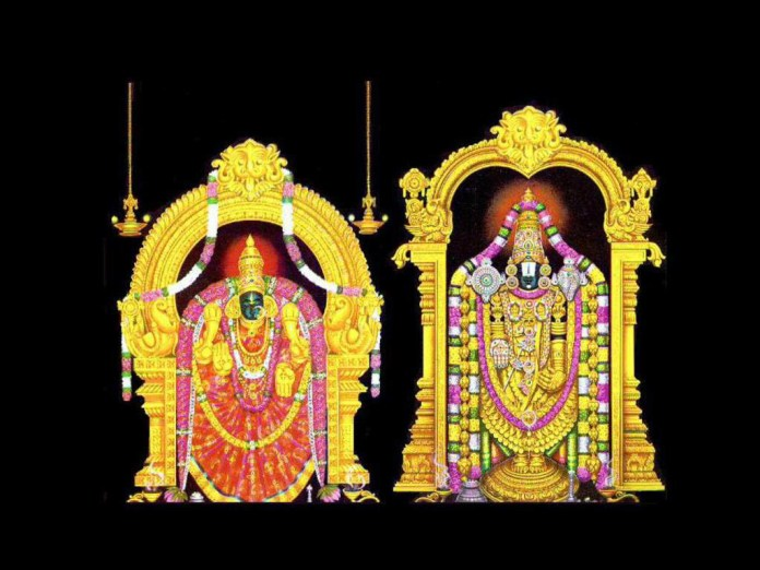 Beautiful image of god Venkateswara