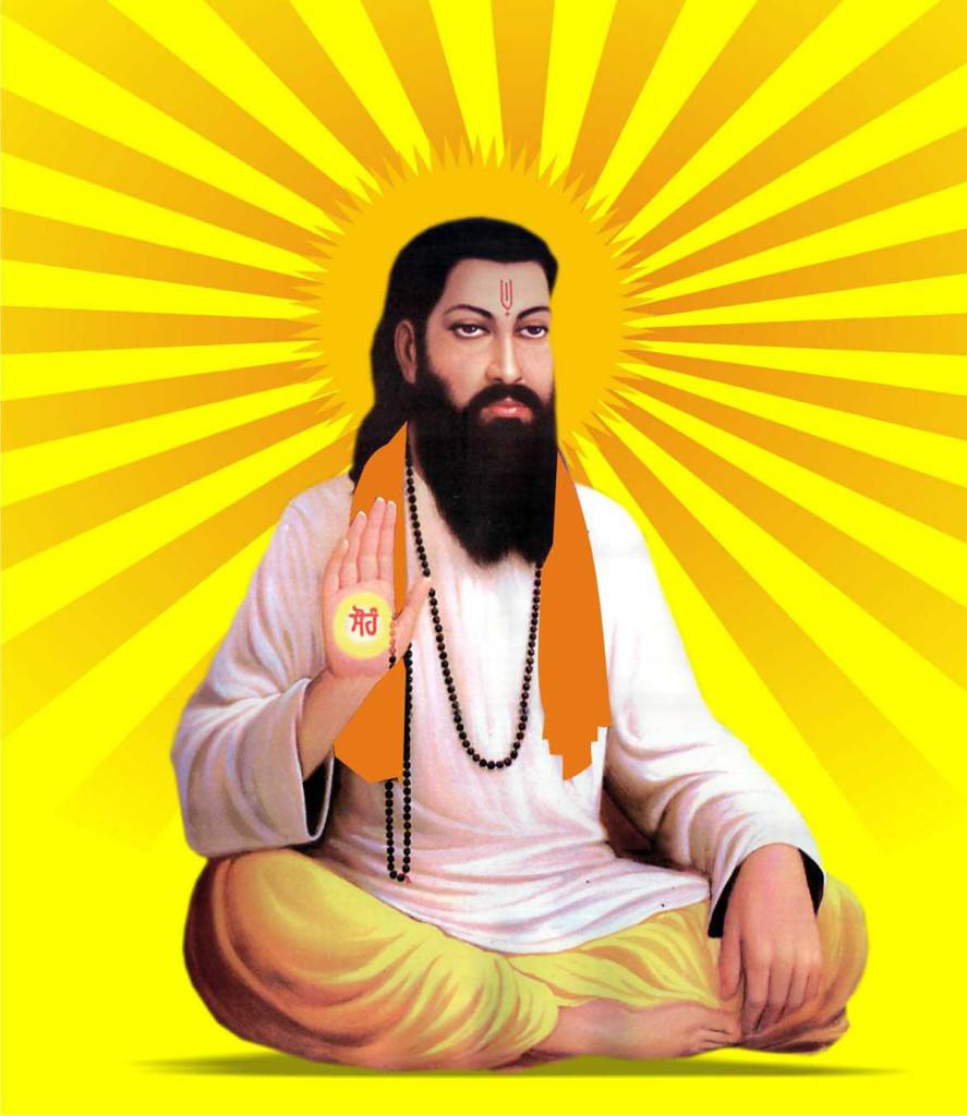 Sant Guru Ravidass ji picture