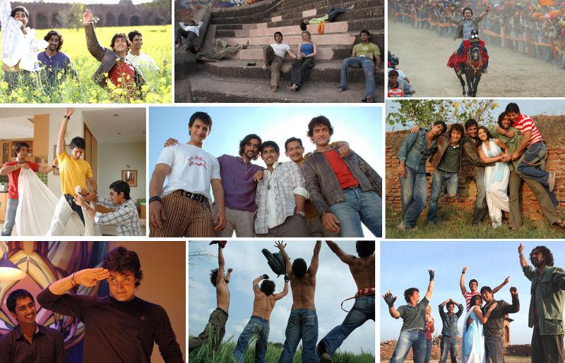 Rang De Basanti Collage