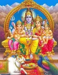 Lord ganesha family