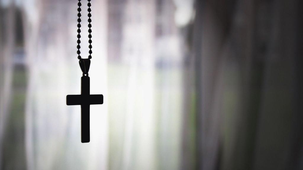 Rosary closeup image