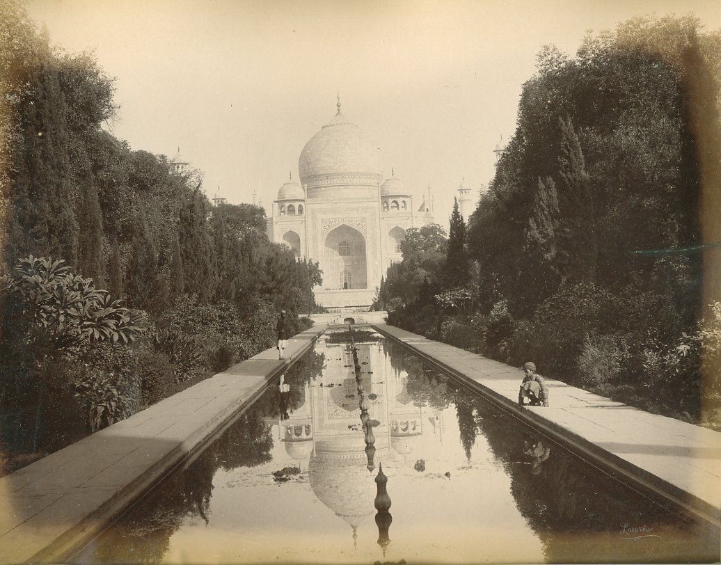 1. A neglected Taj Mahal after the fall of the Mughal Empire, Late 19th Century.