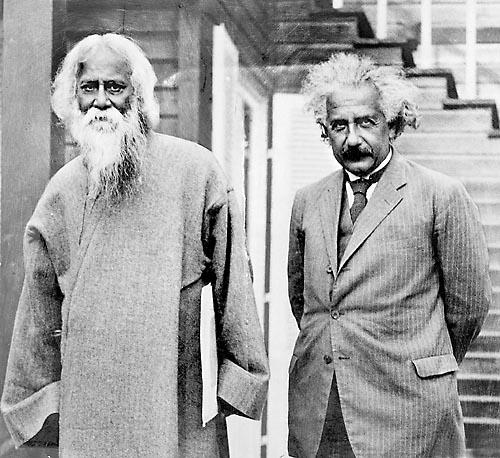 11. Rabindranath Tagore & Albert Einstein, August 1941.