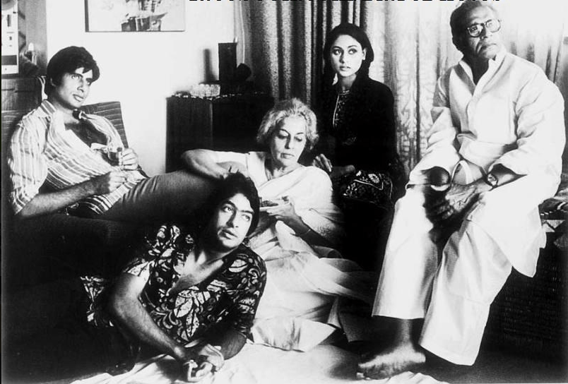 22. The Bachchans Family Photo, 1970.
