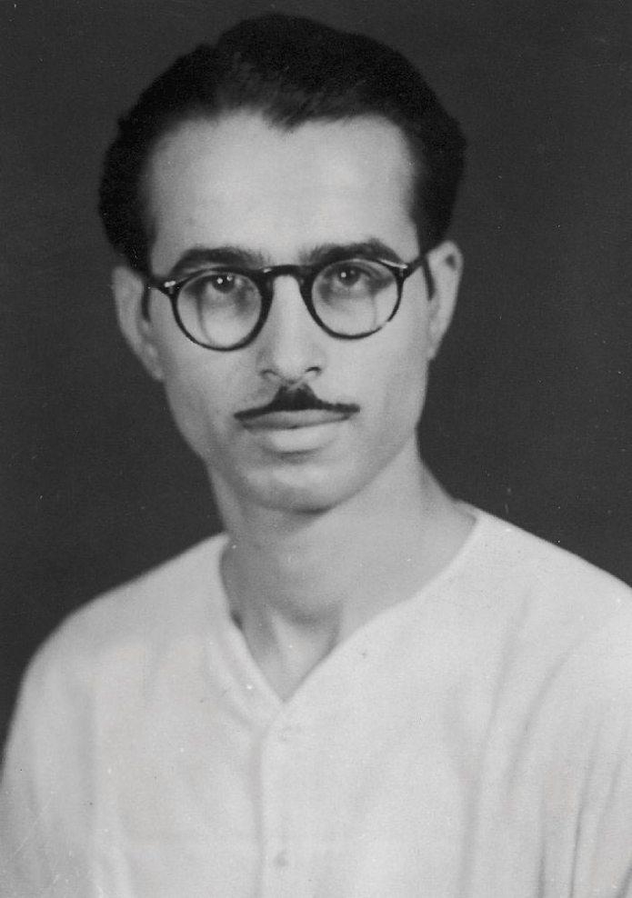 30.A young L.K. Advani.