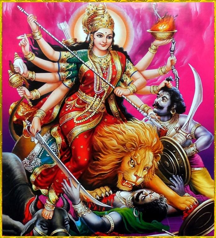 Durga Devi Killing Asur