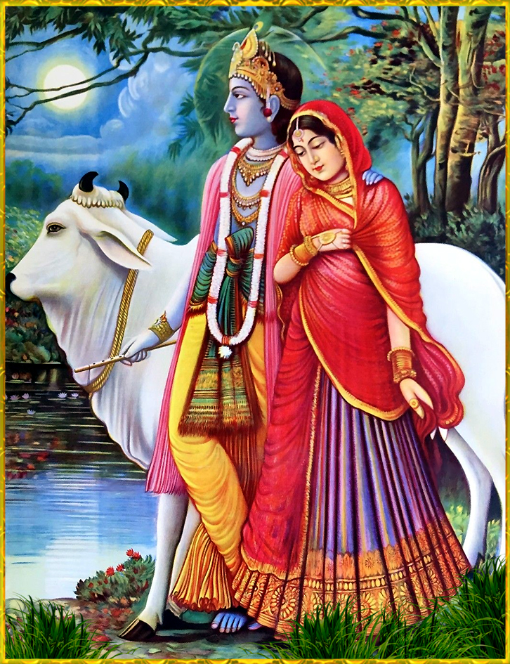 Krishna Radhe Cow