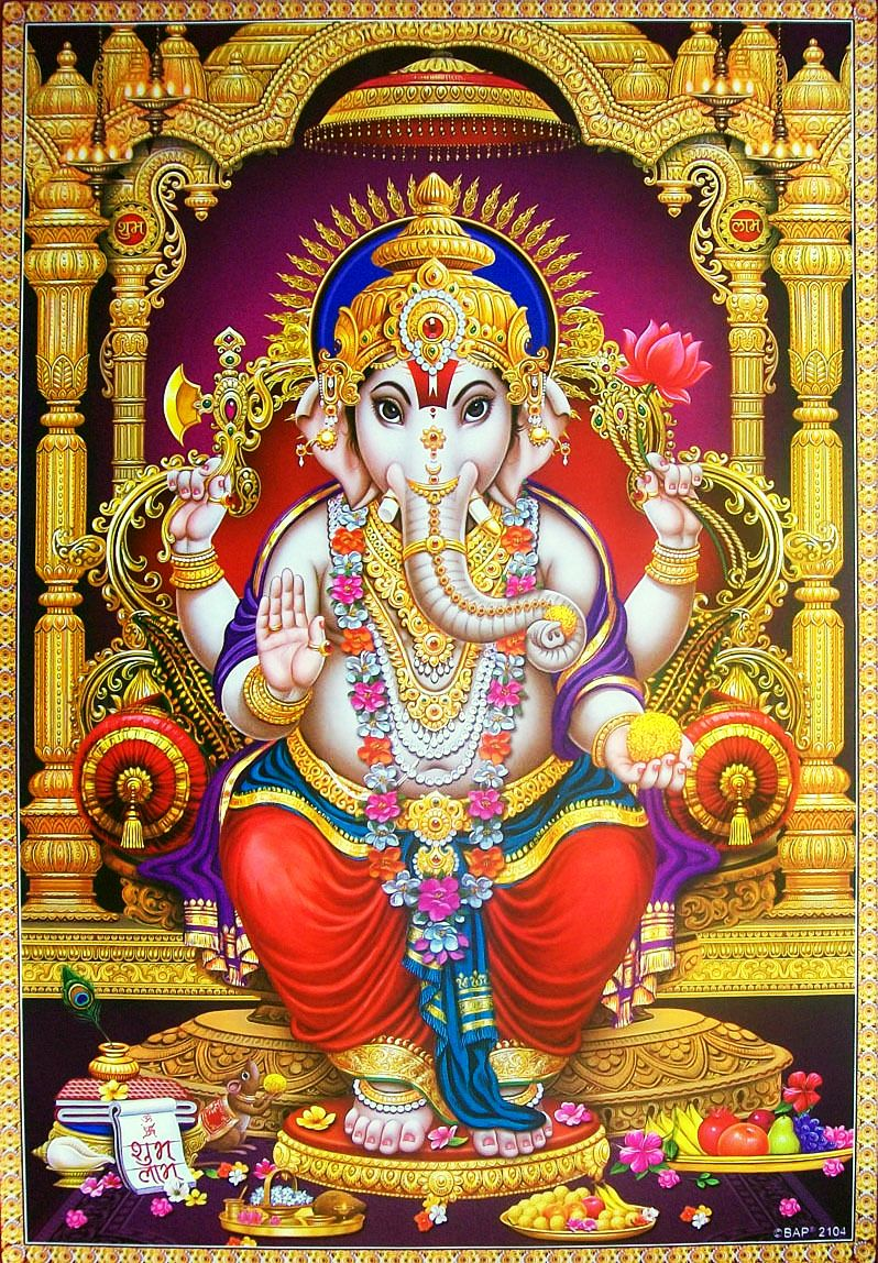 Lord Ganesha Golden