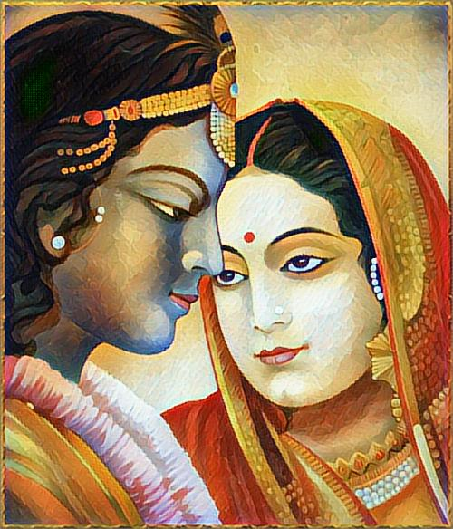 Radhe Krishna Paintings