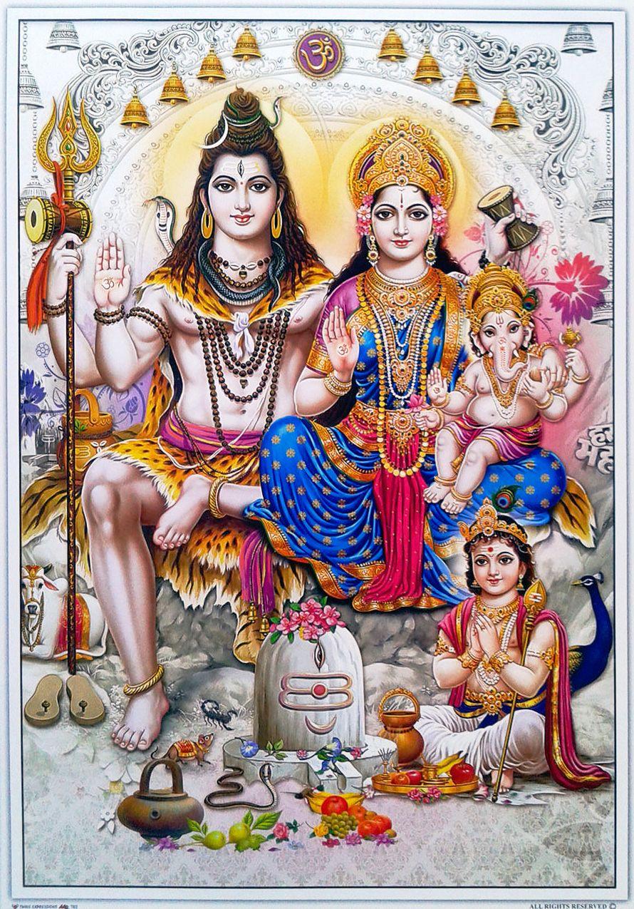 Shiva Family Image