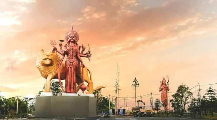 Tallest Durga Idol