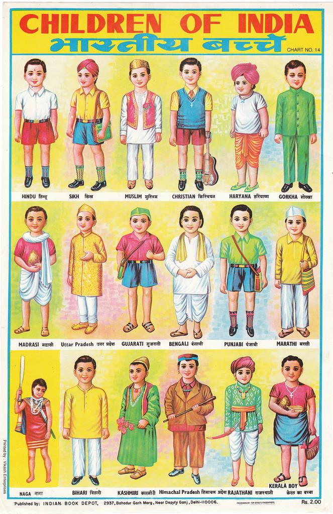 Children of India Region