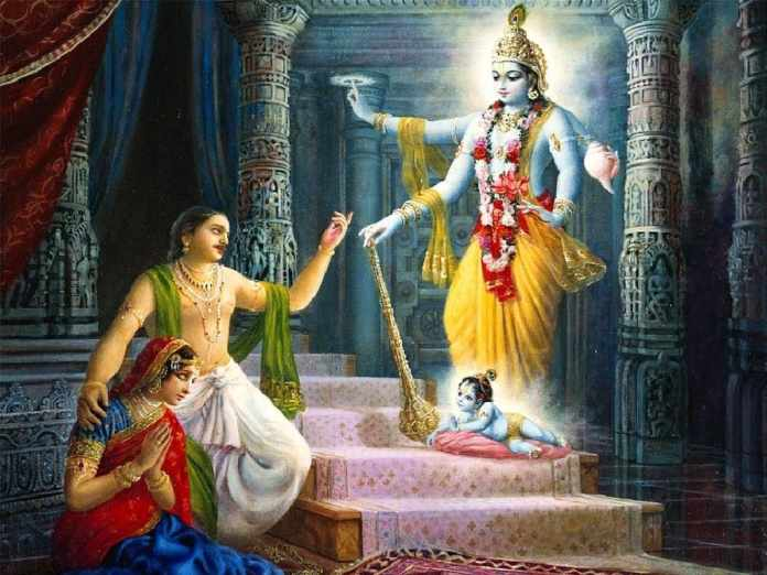 Krishnas Birth - Lord Krishna Leelas: The Birth of Krishna
