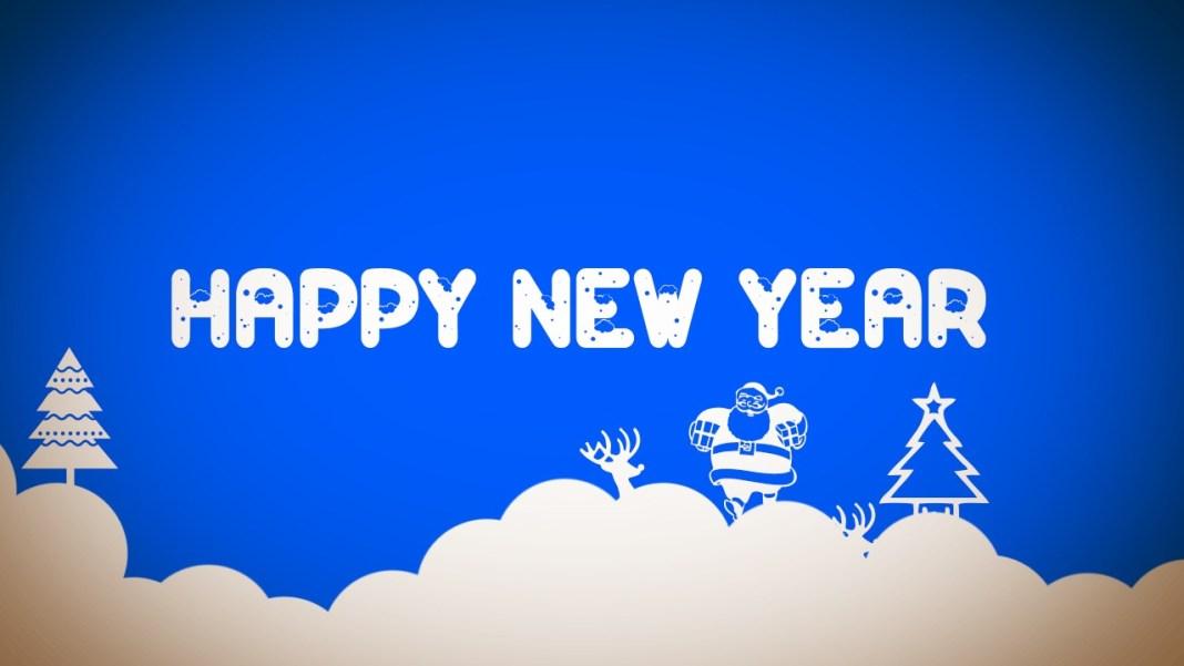 Happy New Year Cartoon