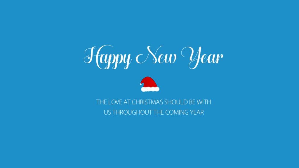 Happy New Year Christmas love