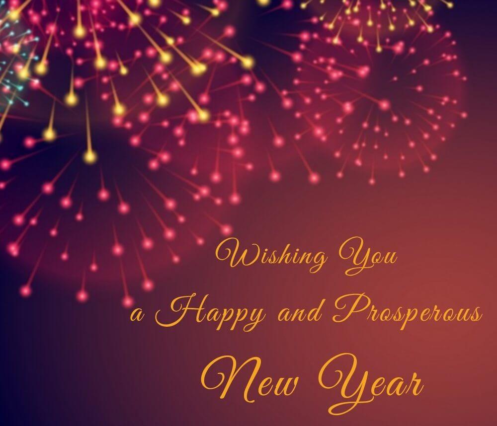 Happy New Year Wishing
