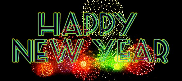 happy new year gif hd