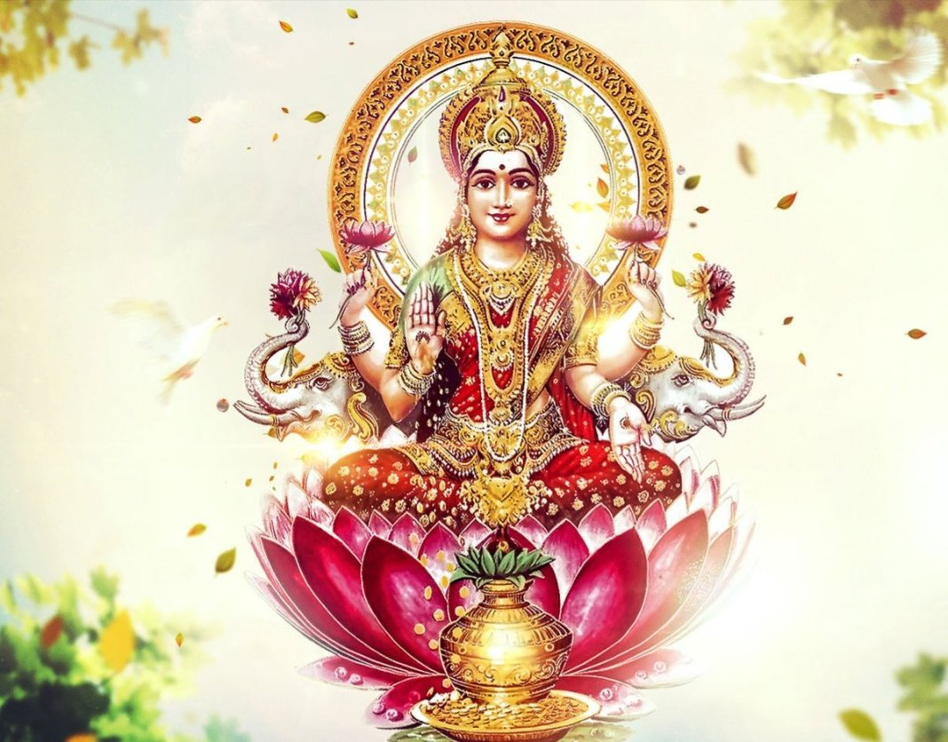 Devi Lakshmi Maa Wallpaper