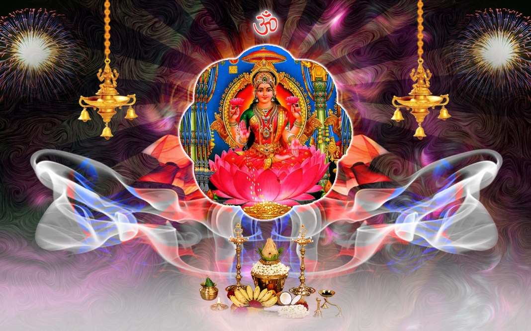 Lakshmi Devi Pooja Photo