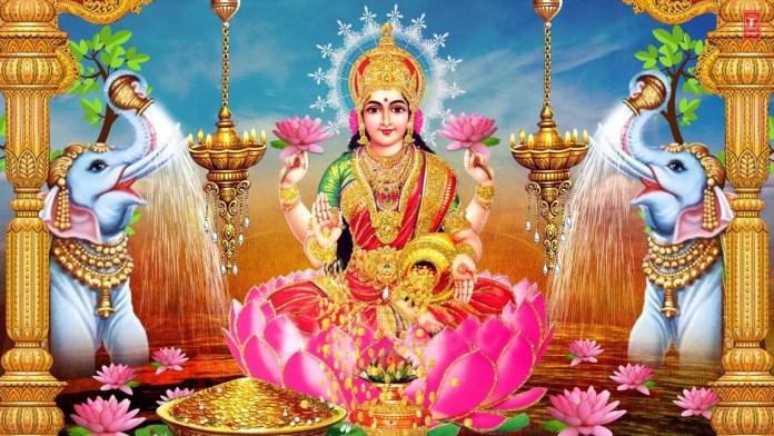 Goddess Lakshmi Wallpaper