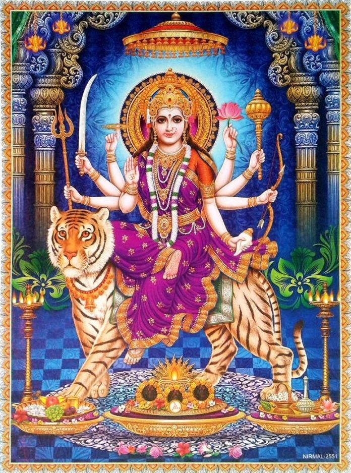 Durga Mata Beautiful Photo