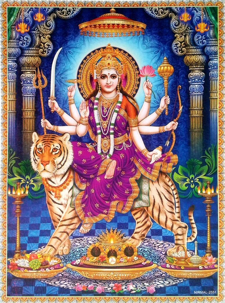 Durga Mata Beautiful Photo