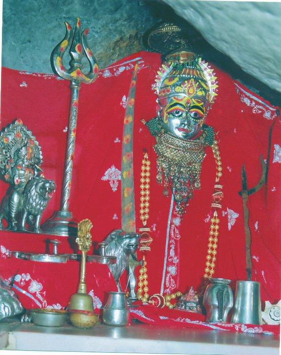 Sundha Mata Old Photo