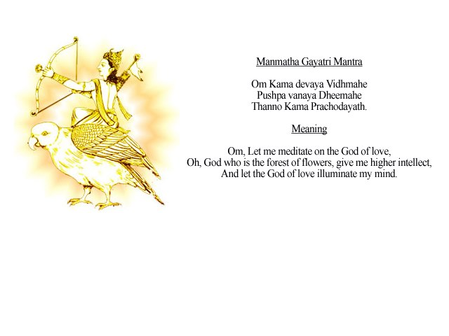 Kamdev Gayatri Mantra