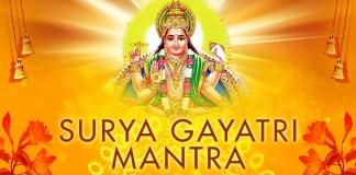 Surya Gayatri Mantra in Sanskrit