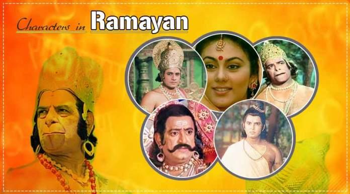 Ramayan characters