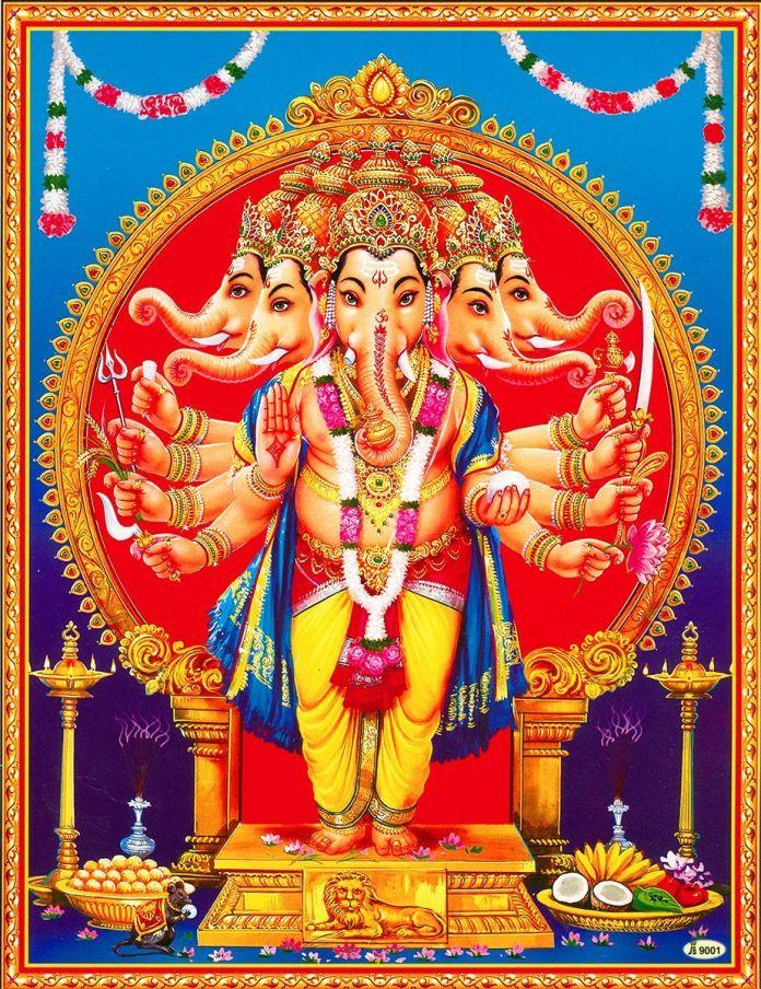 Panchmukhi Ganesha