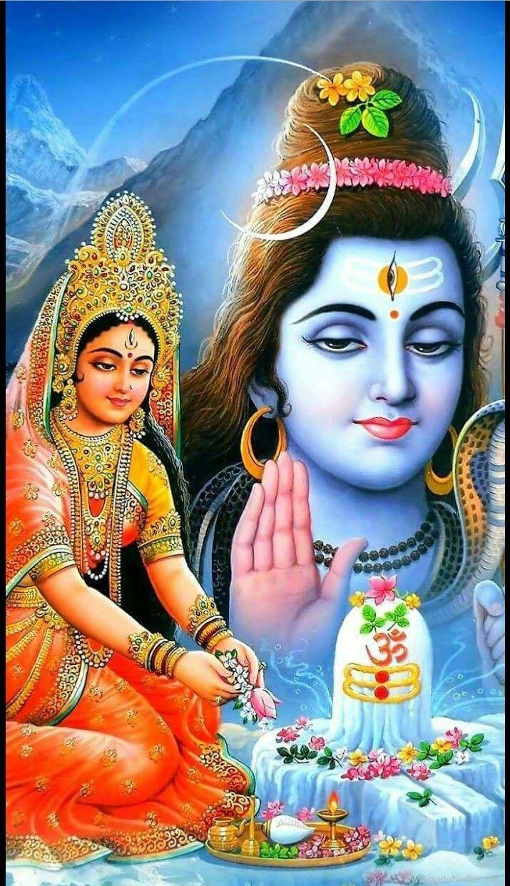 Parvati Shiva Puja