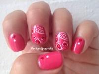 Summer Love Nail Art Tutorial - Work And Play Nails
