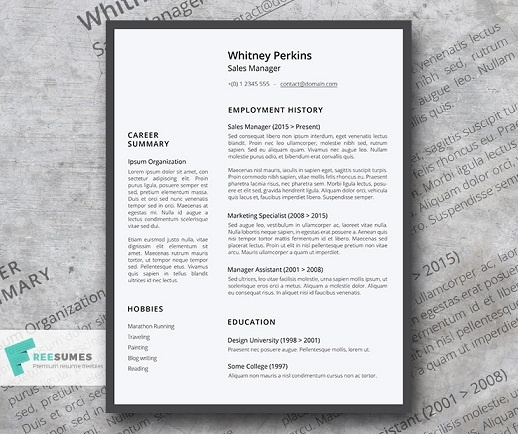 Free Resume Templates (Download Here) 1