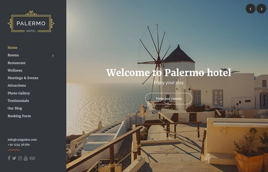 CSS Igniter Palermo WordPress Theme 1