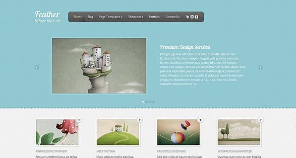 Elegant Themes Feather WordPress