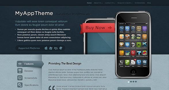 Elegant Themes MyApp WordPress Theme