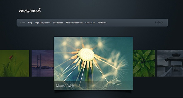 elegant themes envisioned wordpress theme