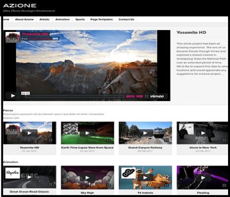Obox Theme Azione WordPress Theme