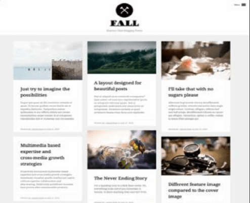 Obox Themes Fall WordPress Theme