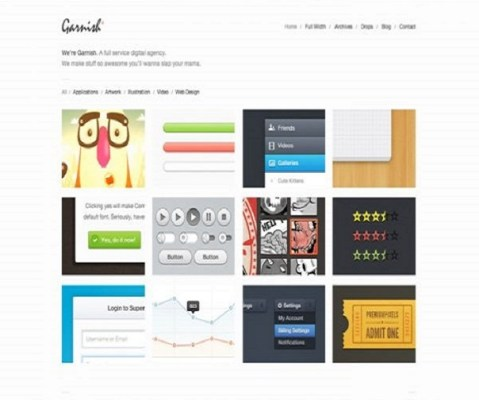 ThemeZilla Garnish WordPress Theme 1