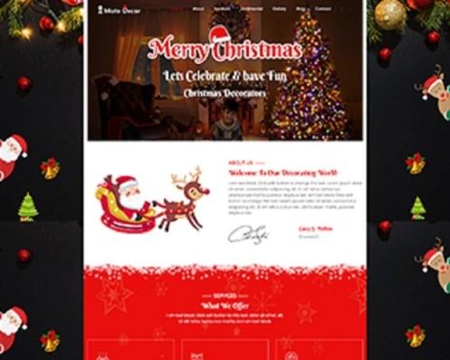 Premium Moto Theme Christmas Decoration 1