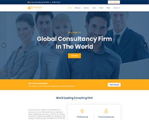 Premium Moto Theme Consultancy Services