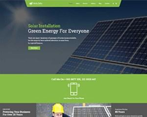 Premium Moto Theme Solar Installation