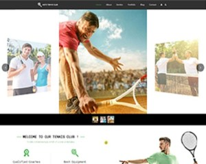 Premium Moto Theme Tennis Club 1