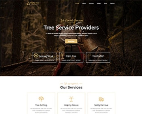 Premium Moto Theme Tree Services 1