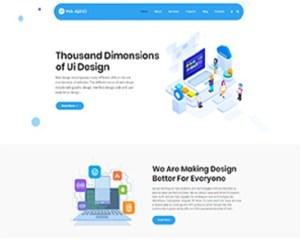 Premium Moto Theme Web Agency 1